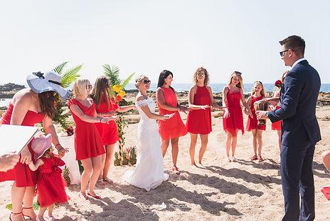 Свадьба на пляже на Кипре