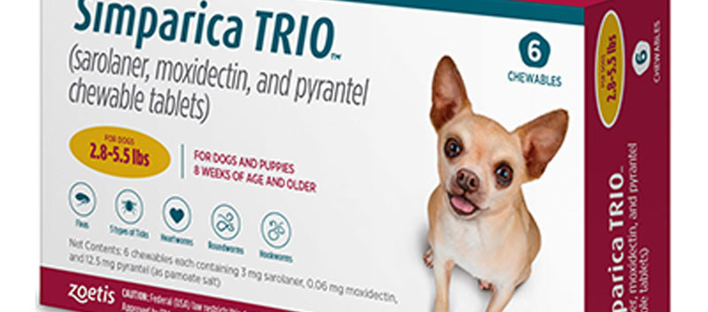 Simprica Trio Gold Chewable