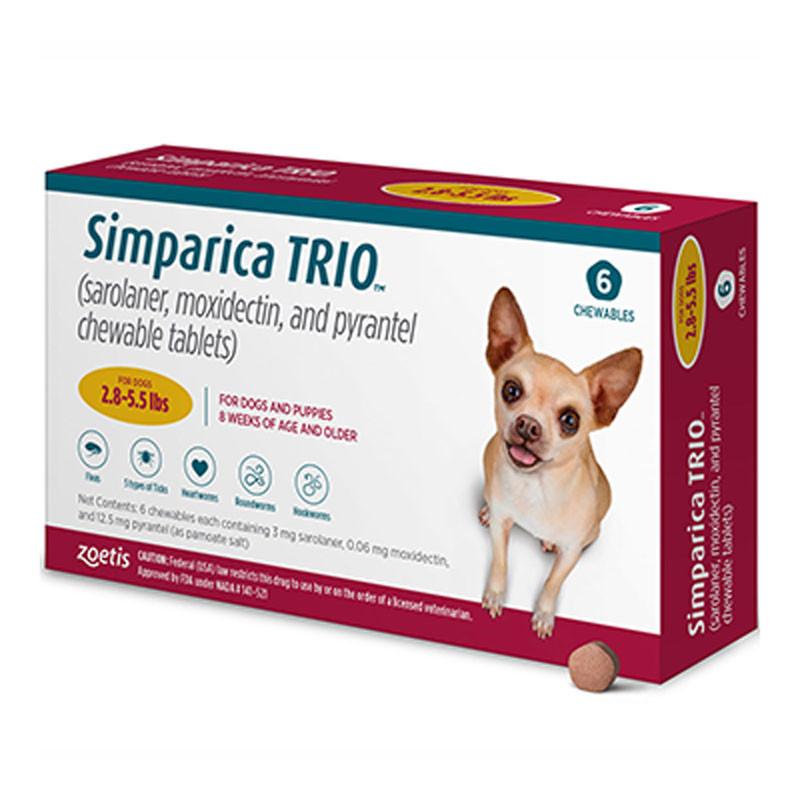 Simprica Trio Gold Chewable