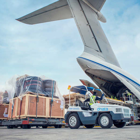 How to consign a Master Air Waybill to March Logistics