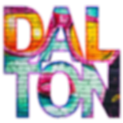 An image graphic of the website owner's name - Dalton
