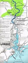 Carte fluviale-circuit Au fil de l'eau