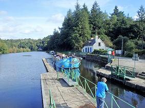 navigation fluviale-péniche-canal-Blavet