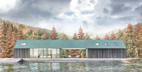 Summer Lake House