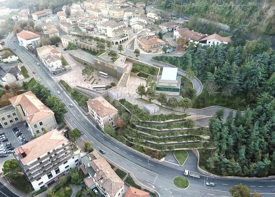 New Parking in Borgomaggiore