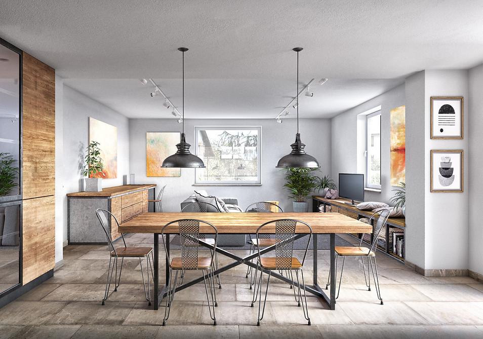Apartment renovation in Pecetto (AL)