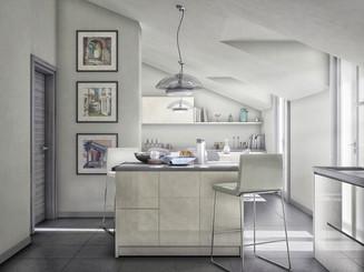 Attic renovation in Valenza 02