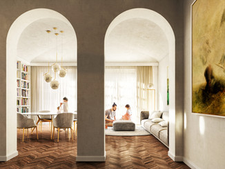 Apartment renovation in Milan