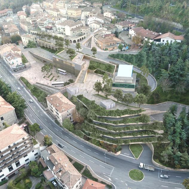New hub in Borgomaggiore