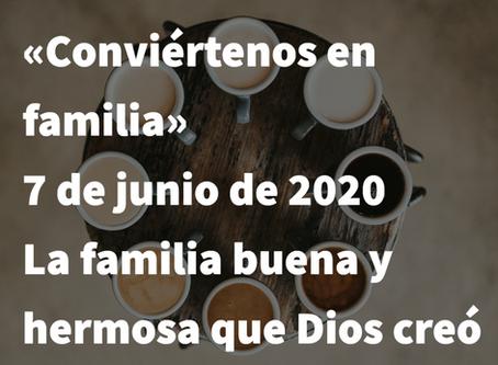 Domingo de la Trinidad: 7 de junio, 2020
