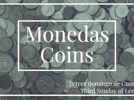 DEVOCIONAL DOMINGO: MONEDAS