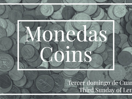 SUNDAY DEVOTION: COINS