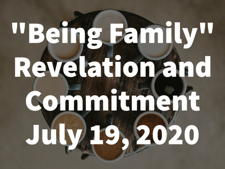 Proper 11: July 19, 2020