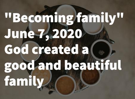 Trinity Sunday: June 7, 2020