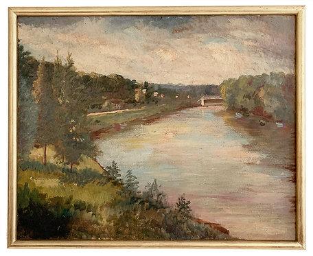 """BESNARD Lita """"Bord de rivière"""""""