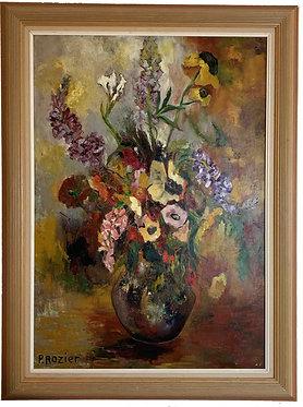 """ROZIER Paule """"Bouquet de fleurs"""""""