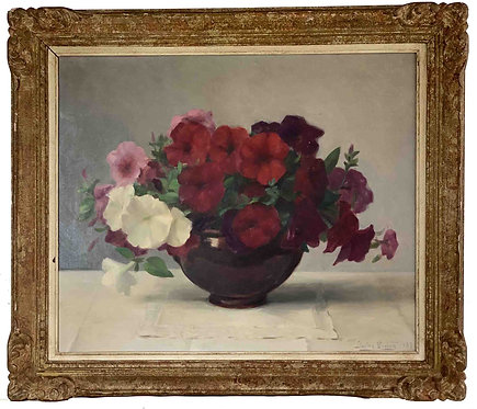 "GUEDY Gaston ""Vase de fleurs"""