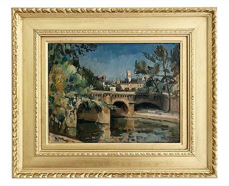 """Edmond CERIA """"Pont Henri IV"""""""