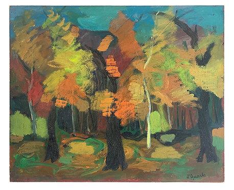 "D'ACCARDI Gian Rodolfo ""Forêt en automne"""