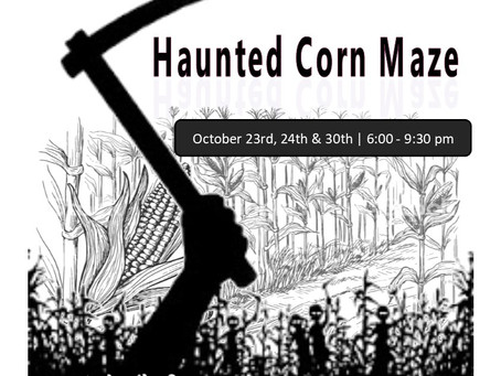 Snag Tickets for The Haunted Corn Maze, Pumpkin Carving Contest, and The Trick or Treat Festival!