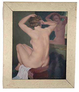 "VITTINI Giulio "" Nu au miroir"""