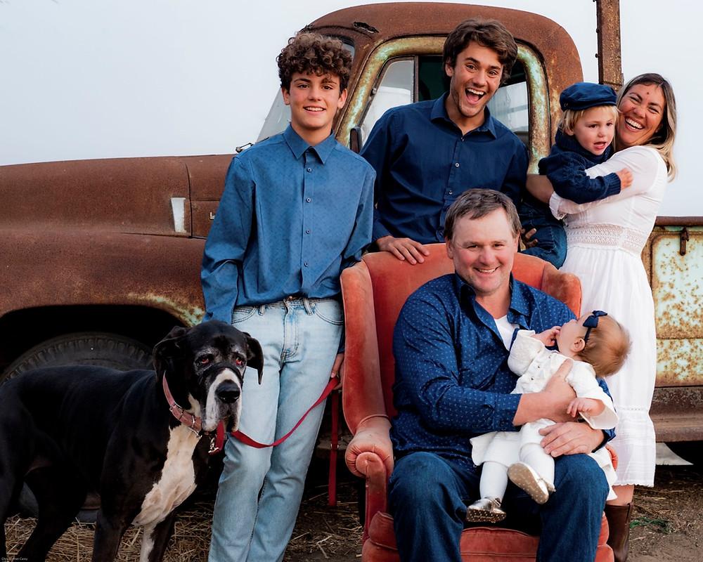 2019 Andreotti Family Portrait