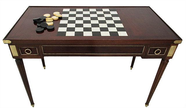 Table à jeux époque XVIIIe Louis XVI