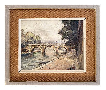 """BERONNEAU André """"Paris - Le Pont-Neuf"""""""