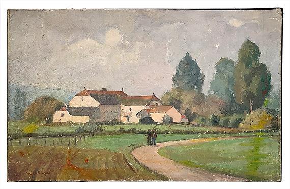 """EHLINGER Maurice """"Moulin de Beaudoncourt"""""""