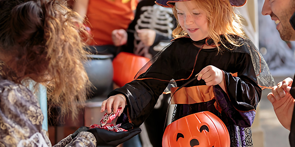 Halloween Trick or Treat Trail & Candy Hunt