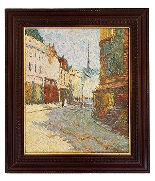 "GAUVRIT Jean-Jacques ""La rue Mouffetard"""