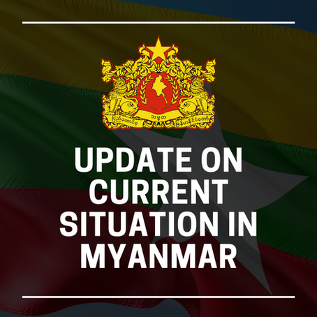 Weekly Updates on Current Situation in Myanmar (17 October 2021)