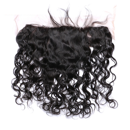 Peruvian Natural Curly Lace Frontal