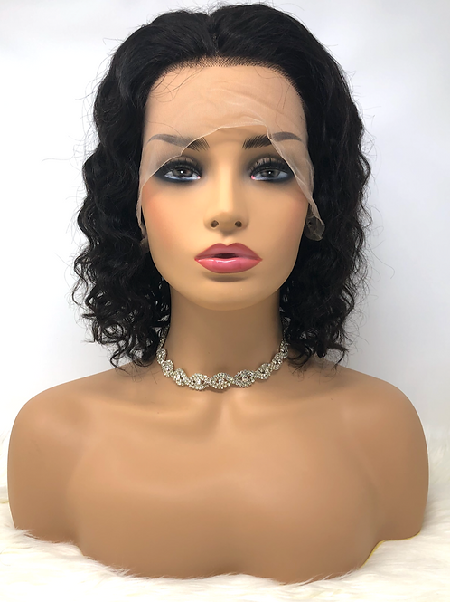 """10"""" Natural Curly Lace Front Unit"""