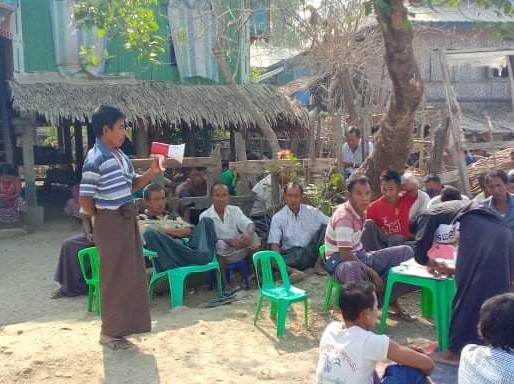 COVID-19 Public Service Announcement Campaign in Rakhine