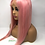 "Thumbnail: 22"" Brazilian Straight PINK Lace Front Unit"