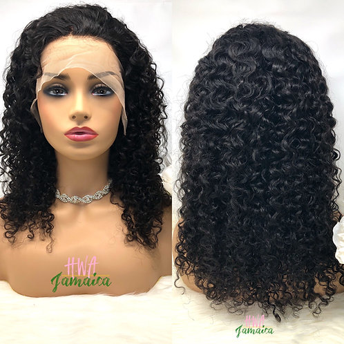 """16"""" Loose Kinky Curly Lace Front Unit"""
