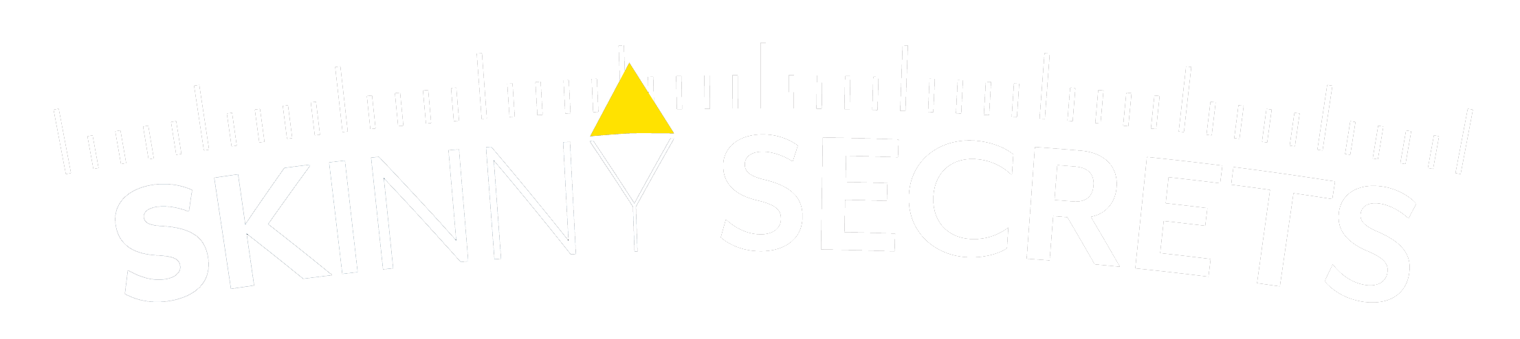 Skinny Secrets White Logo