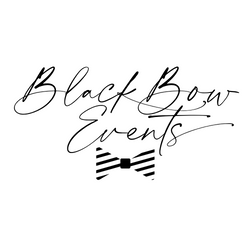 Copy of BlackBowWhiteTie Logo Mock 8