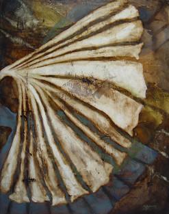 """Translucence"" by Sara Bowers. Mixed Media on Canvas. 90cmx120cm. SOLD"