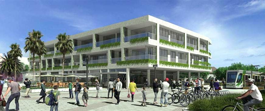 Beach Street Apartments & Commercial Centre, Port Melbourne