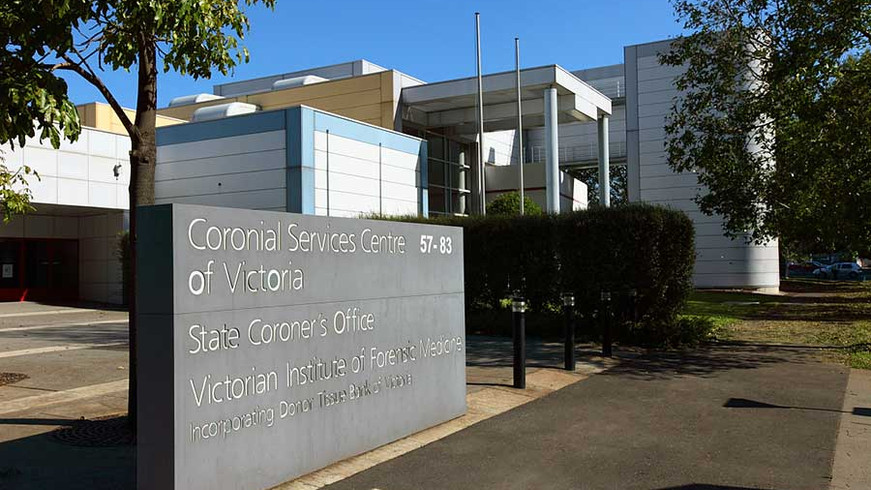 Coronial Services Centre, Medical, Melbourne