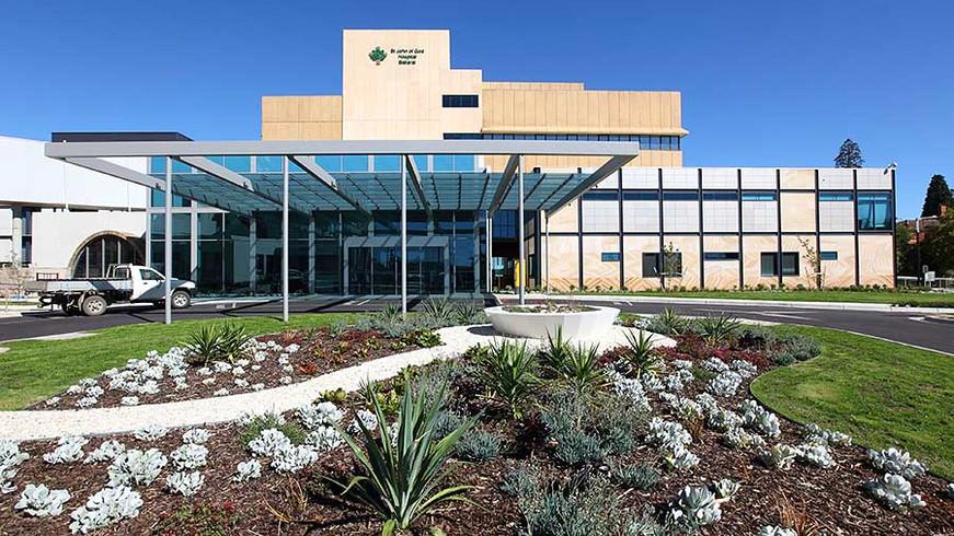 St John of God Hospital, Medical, Ballarat