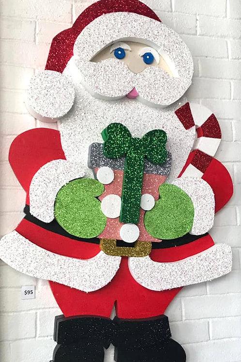 Santa Clause con Regalo