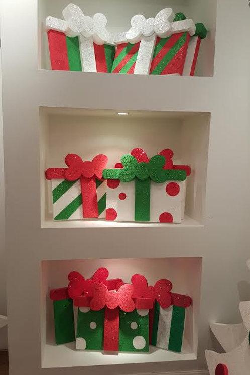 """Set de 3 regalos  (12"""", 16"""", 18"""") SKU (REGS3)"""