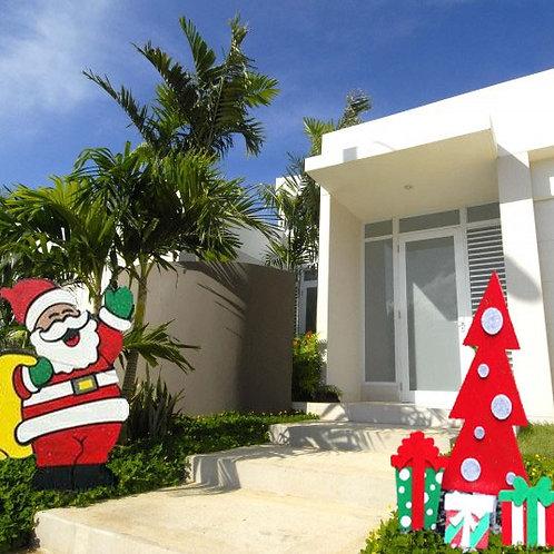 Santa con bolsa de regalos (STABOLS)