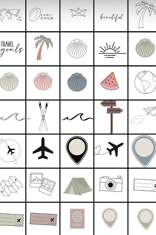 Instagramm Storie Sticker Travel Teil 3