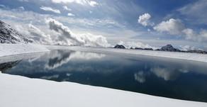 Wanderung auf dem Mölltaler Gletscher auf über 3000 m ü.d.M.