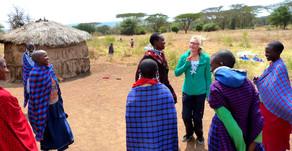 Afrika|Tansania|Einladung zum Tee in einer Manyatta| Das Leben im Massai - Dorf