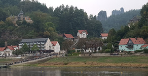 Deutschland- Klettern im Sächsischen Fels